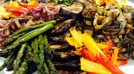 Grilled Vegetables Wallpaper