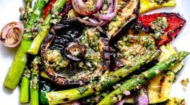 Grilled Vegetables Wallpaper For Mobile#1