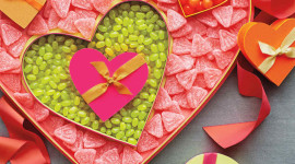 Heart Boxes Wallpaper For IPhone