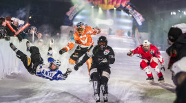 Ice Cross Downhill Wallpaper High Definition