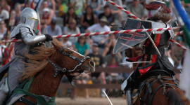 Jousting Knight Wallpaper Download Free