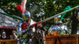 Jousting Knight Wallpaper For PC