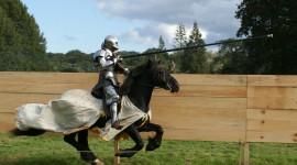 Jousting Knight Wallpaper Full HD