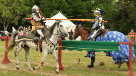 Jousting Knight Wallpaper High Definition