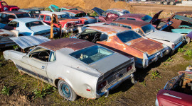 Junk Yard Desktop Wallpaper Free