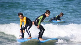 Kids Surfing Photo