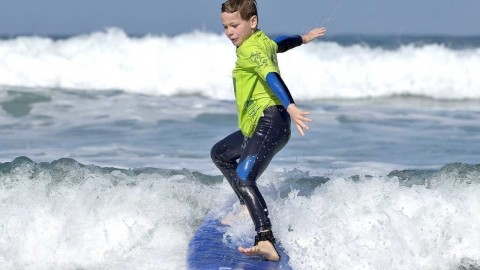 Kids Surfing wallpapers high quality