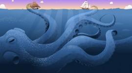 Kraken High Quality Wallpaper