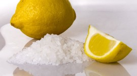 Lemon Salt Desktop Wallpaper