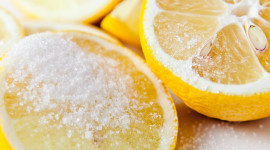 Lemon Salt Wallpaper