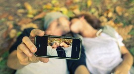 Lovers Selfie Photo