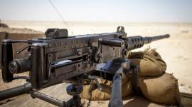 Machine Gun Wallpaper Background