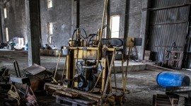 Machines In Factories High Quality Wallpaper