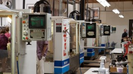 Machines In Factories Wallpaper Background