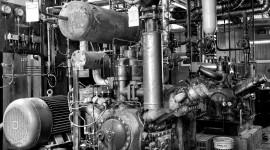 Machines In Factories Wallpaper HD