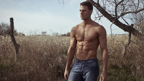 Male Model Field wallpapers high quality