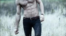 Male Model Field Wallpaper For Mobile#1