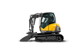 Mini Excavator High Quality Wallpaper
