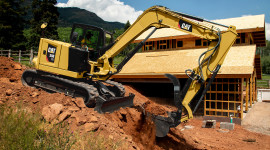 Mini Excavator Wallpaper Free