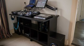 Mixing Console Wallpaper