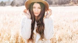 Model Girl Grass Wallpaper For Mobile