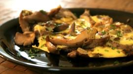 Mushroom Omelets Image