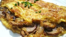 Mushroom Omelets Wallpaper Download
