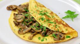 Mushroom Omelets Wallpaper Free