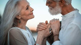 Old People In Love Image