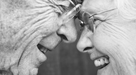 Old People In Love Wallpaper For IPhone