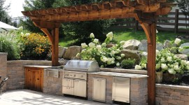 Outdoor Kitchen Desktop Wallpaper For PC