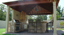 Outdoor Kitchen High Quality Wallpaper