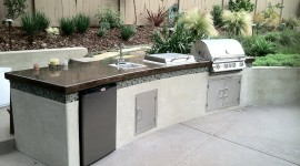 Outdoor Kitchen Wallpaper Download
