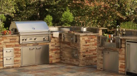 Outdoor Kitchen Wallpaper Free