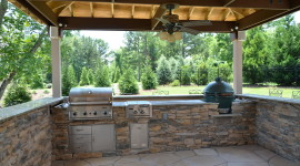 Outdoor Kitchen Wallpaper Full HD