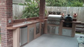 Outdoor Kitchen Wallpaper Gallery