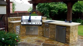 Outdoor Kitchen Wallpaper HQ