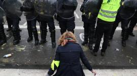 Protests In France Desktop Wallpaper For PC