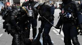 Protests In France Desktop Wallpaper HD