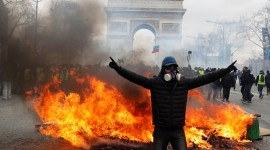 Protests In France Wallpaper 1080p