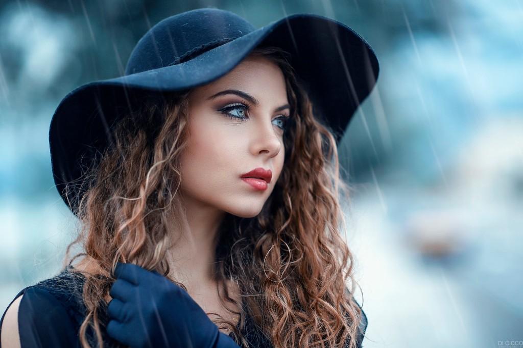 Rain Model Girl wallpapers HD