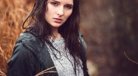 Rain Model Girl Wallpaper For IPhone