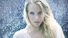 Rain Model Girl Wallpaper Full HD