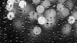 Rainy Window Desktop Wallpaper