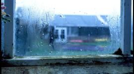 Rainy Window Desktop Wallpaper For PC