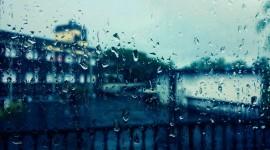 Rainy Window Desktop Wallpaper HD