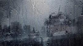 Rainy Window Wallpaper HQ