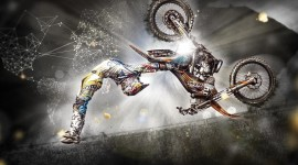 Red Bull X-Fighters Wallpaper Background