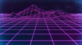 Retrowave Wallpaper Download