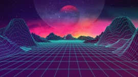 Retrowave Wallpaper Download Free